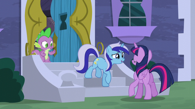 """File:Minuette """"What are you doing here?"""" S5E12.png"""