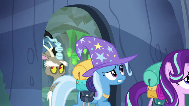 File:Discord, Starlight, and Trixie following Thorax S6E25.png