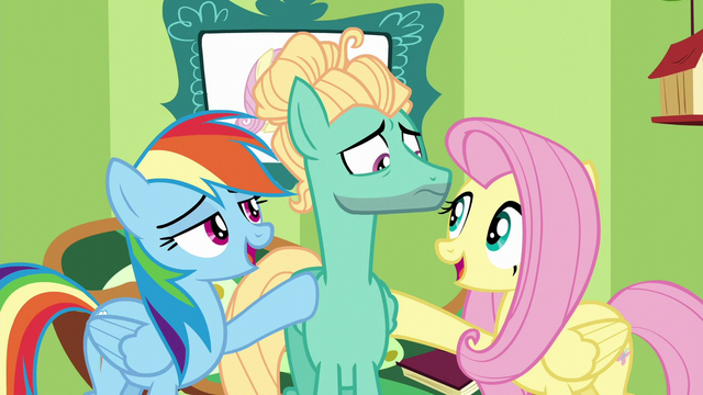 "File:Fluttershy and Rainbow ""give it your best"" S6E11.png"