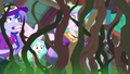 Principal Celestia overwhelmed by wall of vines EG4.png