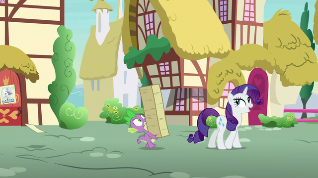 """File:Rarity """"just happened to be walking past"""" S7E9.png"""