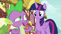 """Spike """"hoping we could take the scenic way"""" S5E3"""