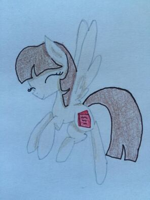 FANMADE Book Mare OC Flying
