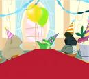 Erfundene Partygäste