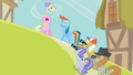 Rainbow Dash posing for photos S2E08.png