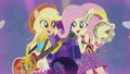 Applejack and Fluttershy rocking out EG2.png