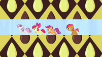CMC running away from Babs Seed S3E4
