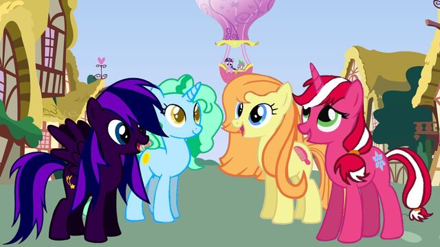 File:FANMADE Friends In Ponyville OC group.jpg