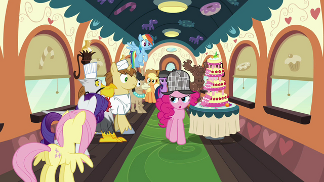 File:Pinkie with the likely suspects on the train S2E24.png