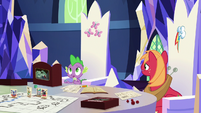 """Spike """"that's a big risk"""" S6E17"""