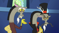 Discord and his old self S5E22.png