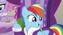 """Rainbow Dash """"am I right?"""" S6E10"""