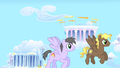 Rainbow Swoop and Compass Star flying S1E16.png