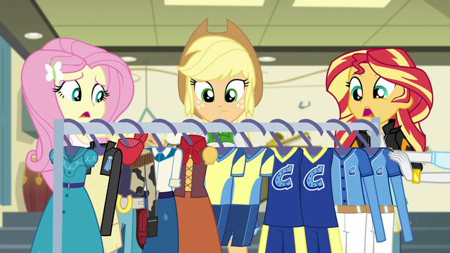 File:Rarity pushing costume rack out of hammerspace EG3.png