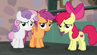 "Apple Bloom ""if we hadn't put him up to it"" S7E8"