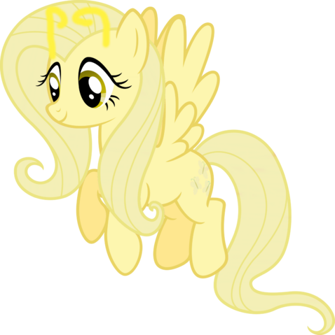 File:FANMADE Fluttershy happy re-color by myardius.png
