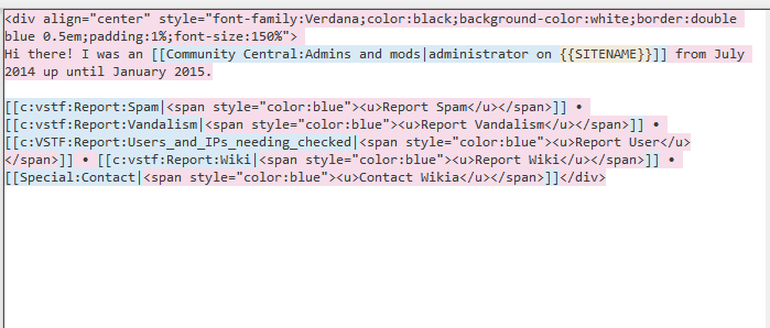 Introducing Wikia Syntax Highlighting
