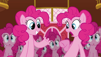 Other Pinkie clone's reaction to fingers S3E3