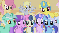 Ponies drooling over muffins half 2 S1E04