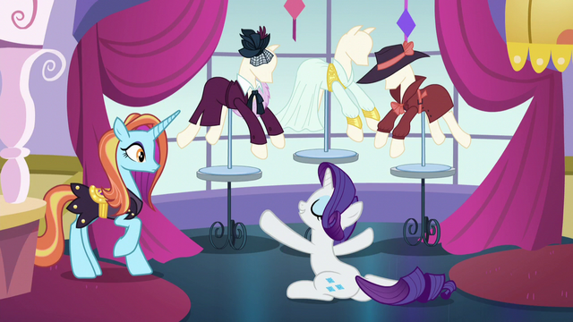 "File:Rarity ""fabulous costumes!"" S5E15.png"
