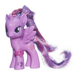 Cutie Mark Magic Princess Twilight Sparkle doll with ribbon