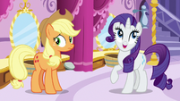 "Rarity ""no matter what we wear"" S7E9"