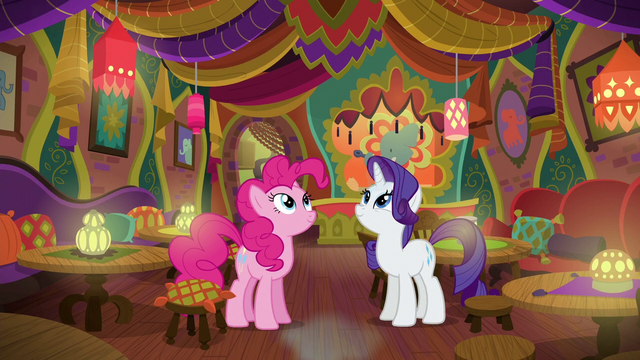 File:Pinkie and Rarity in the restored Tasty Treat S6E12.png