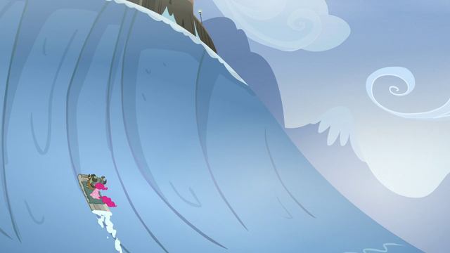 File:Pinkie and yak almost reaching Yakyakistan S5E11.png
