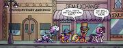 Comic issue 22 Manehattan's Diamond District