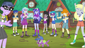 Principals and campers cheer for Equestria Girls EG4.png