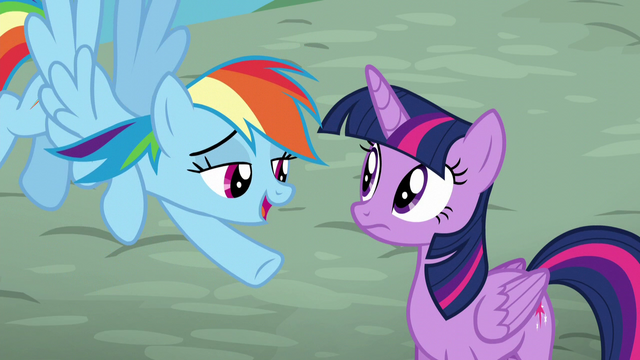 "File:Rainbow ""Kind of an inside joke from this weekend"" S5E22.png"