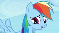 """Rainbow Dash """"point taken"""" S4E25"""