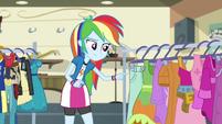Rainbow Dash curious EG3