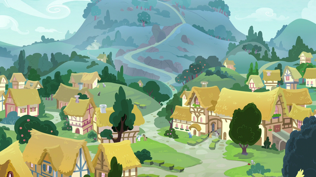 File:Distance view of Ponyville and mountainside S7E6.png