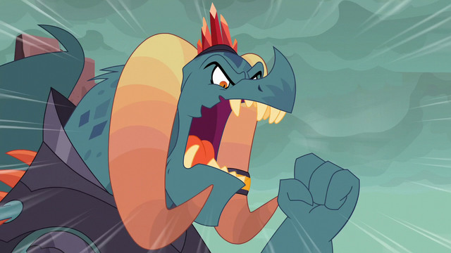 """File:Torch shouts """"be amused!"""" S6E5.png"""