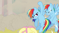Rainbow Dash Shoryuken S02E26