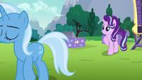 Trixie walking away from Starlight S6E6