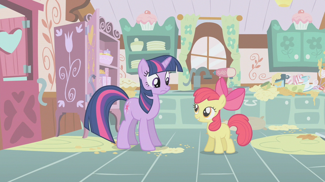 File:Apple Bloom and Twilight Sparkle S01E12.png
