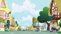 Ponyville deserted S01E04
