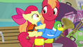Apple Bloom and Big Mac scared S4E09.png