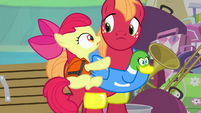 Apple Bloom and Big Mac scared S4E09