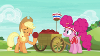 "Applejack ""the most important thing in the game"" S6E18"