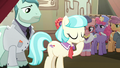 Coco Pommel about to give a speech S5E16.png