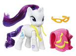 Explore Equestria Rarity Dressmaking poseable figure