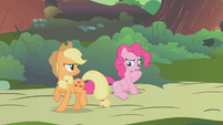 Pinkie Pie in deep thought S1E10