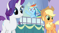 Rarity wide eyed cuteness S3E9