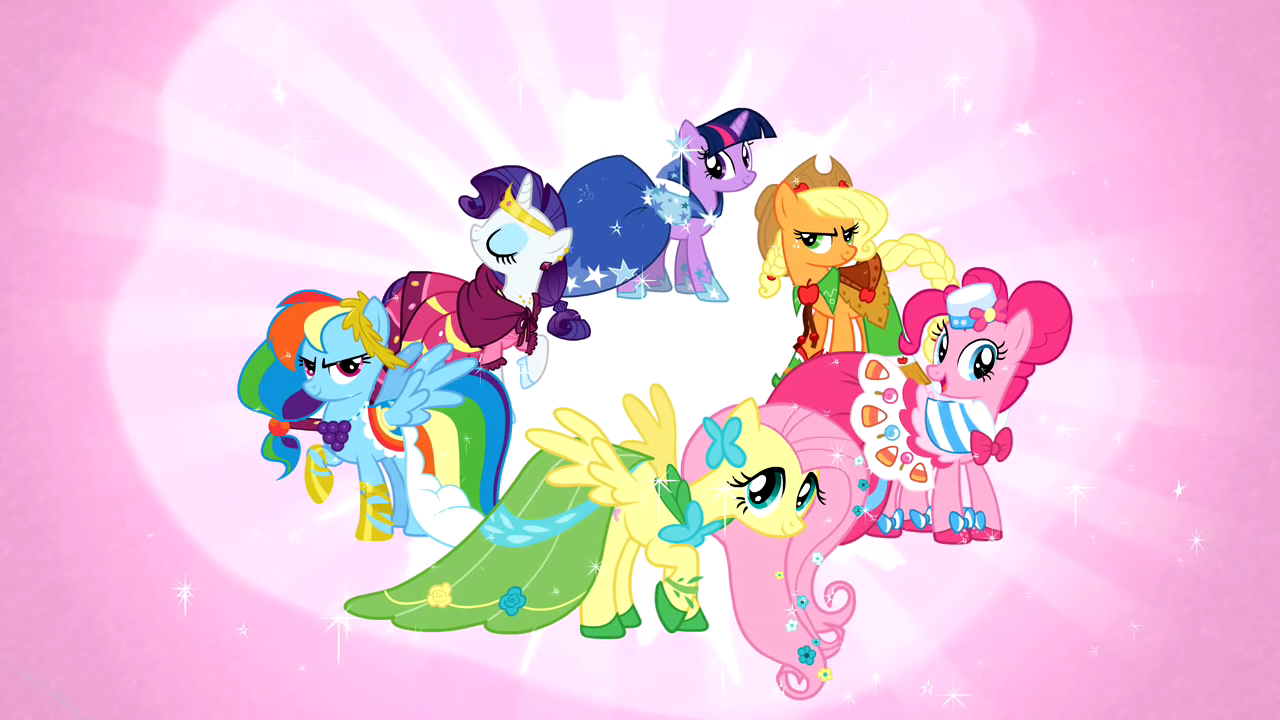 Image - The main cast in their gala dresses S01E26.png ...