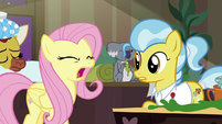 "Fluttershy shouting ""no!"" S7E5"