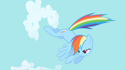 Rainbow Dash continues clearing the sky S1E01.png