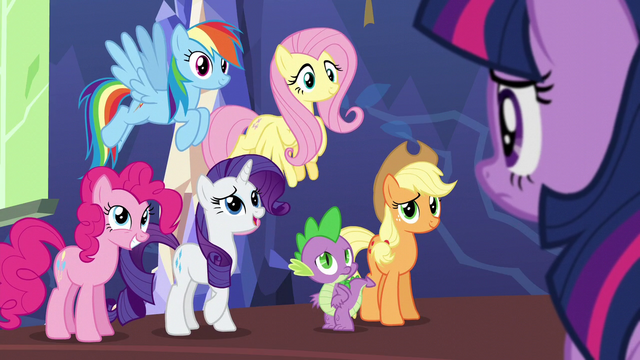 "File:Rarity ""took a teensy bit longer"" S5E3.png"